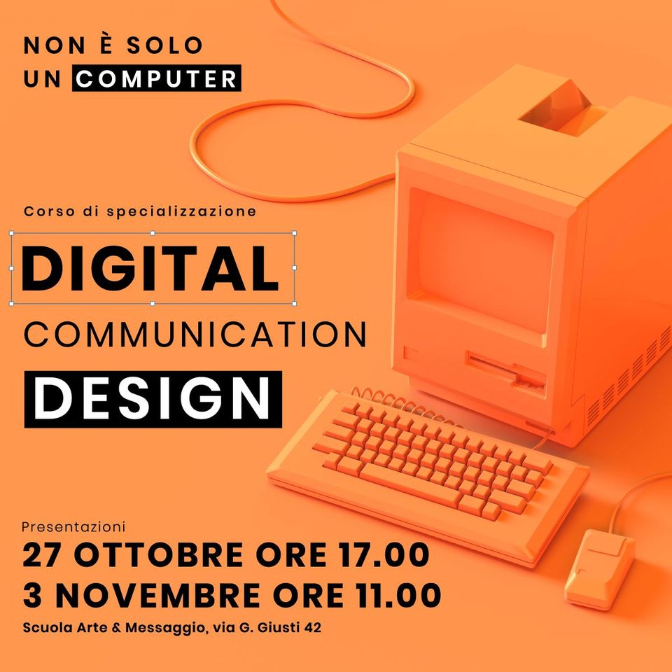 Presentazione Corso Digital Communication Design
